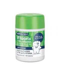 Nycodent Fluorix 0,5 mg vitamin D3 100 stk