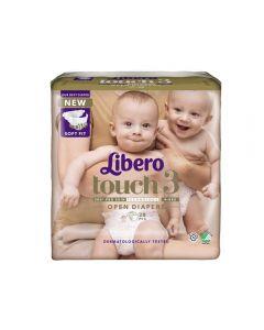 Libero Touch 3 åpen bleie 4-8kg