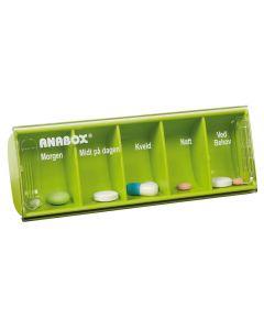 Anabox dagdosett limegrønn