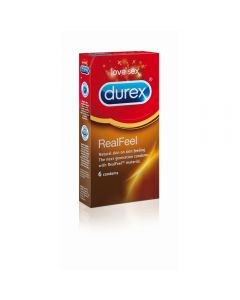 Durex Real Feel Kondom 6 stk