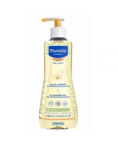 Mustela cleansing oil dry skin