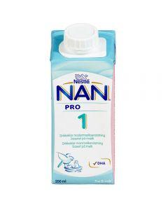Nan 1 Drikkeklar Fra Fødselen 200 ml