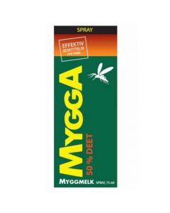 MYGGA SPRAY 50% DEET
