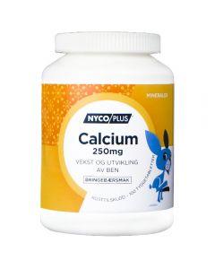 Nycoplus Calcium 250 Tygg Brin 100 stk