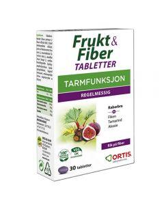 Frukt & Fiber Tab 30 stk