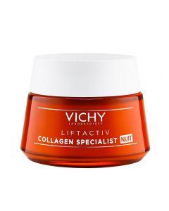 Vichy Liftactive Collagen Specialist nattkrem 50 ml