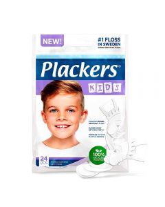 Plackers kids tanntrådbøyle, 24 stk