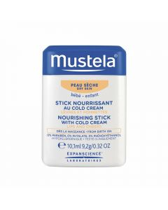 Mustela nourish stick w/cold cream 10,1 ml