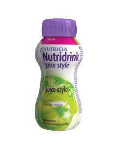 Nutridrink Juice Style Eple 200 ml