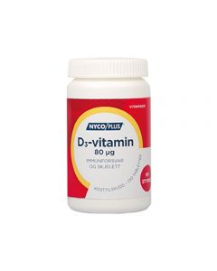 Nycoplus D3-Vitamin Tab 80 mcg 100 stk
