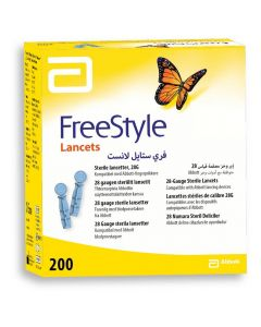 Freestyle Lancet 28G 200 stk