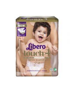 Libero Touch 4 åpen bleie 7-11kg