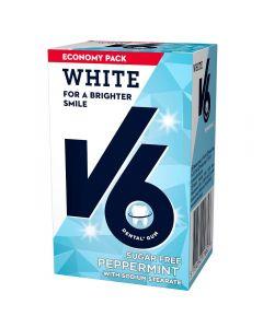 V6 White Peppermint 72G