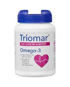 Triomar Hjerte Omega-3 Kaps 90 stk
