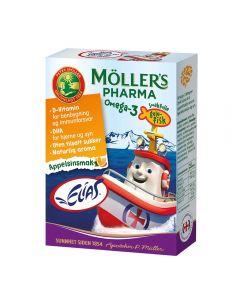 Möller's Pharma O-3 Fisk Appelsin 36 NO