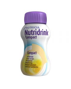 Nutridrink Compact Vanilje 4X125 ml