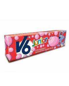 V6 Junior Bubblecious Strawber 22G