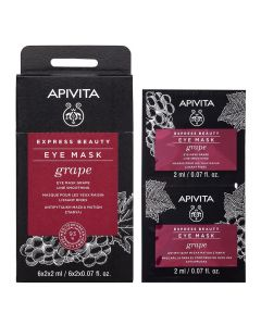 APIVITA EXPRESS GRAPE øyemaske 2x2 ml