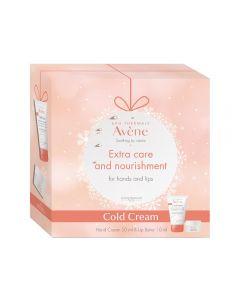 Avène Cold Cream hånd & leppe gavesett