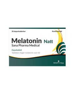 Melatonin Natt 1 mg depottablett 30 stk