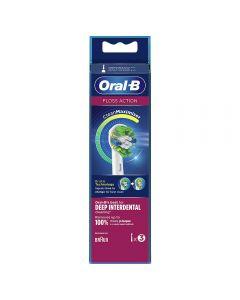 Oral-b børstehode floss action