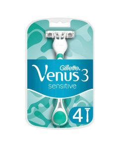 Gillette Venus3 Sensitive Engangshøvler For Kvinner,