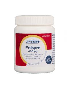 Nycoplus Folsyre Tab 400 mcg 100 stk