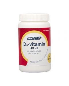 Nycoplus D3-Vitamin Tab 40 mcg 100 stk