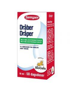 Semper Dråper Melkesyrebakt 0+ 10 ml