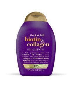OGX Thick & Full + Biotin & Collagen Shampo 385mL