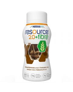 Resource 2,0+ Fiber Sjokolade 4X200 ml