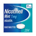 Nicotinell 1 mg sugetabletter for røykeslutt mint 204 stk