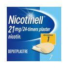 Nicotinell 21 mg depotplaster for røykeslutt 7 stk