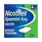 Nicotinell tyggegummi med smak av spearmint 4 mg 204 stk