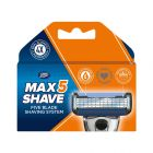 Boots Max Shave 5 blades syst refill 4s
