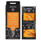 APIVITA EXPRESS HONEY ansiktsmaske 2x8 ml