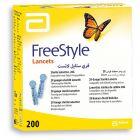 Freestyle Lancet 28G 200 stk